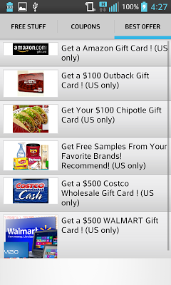 Free Stuff And Coupons - screenshot