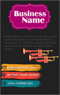 poster maker and poster creator poster generator flyer designer and flyer ads maker is poster designer is a free app using with you can advertise your