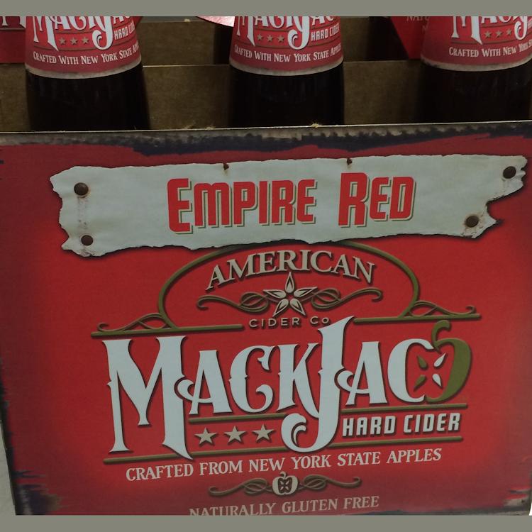 Logo of Mackjac Hard Cider Empire Red