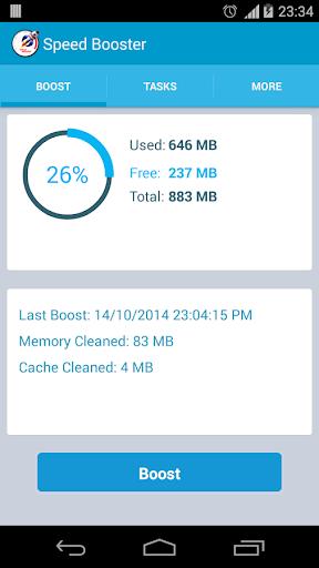 EXtreme RAM Cleaner Speed App