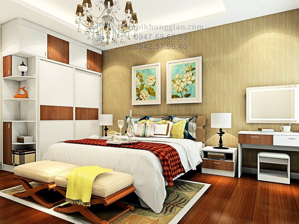 thiết kế phòng ngủ cuốn hút