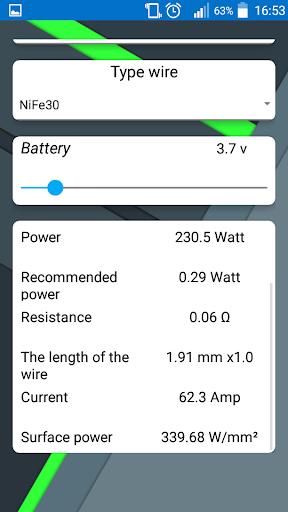 Pocket Vapor Tools  screenshots 5