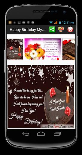 Happy Birthday My Dear Ecards