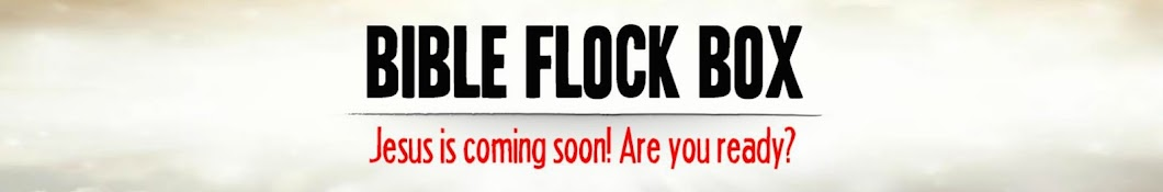 Bible Flock Box Banner