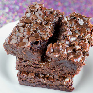 Fudgy Coconut Oil Brownies