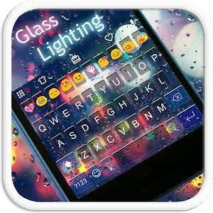Glass Lighting Emoji Keyboard