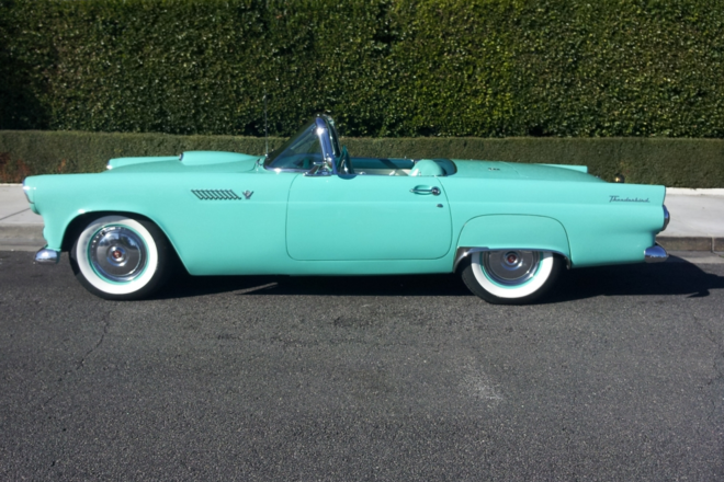 1955 Ford Thunderbird Hire CA