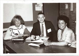 Photo: Sylvia Lewis, Lowell Harris, Eleanor Smith