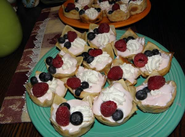 Fruit Cup Tarts Recipe