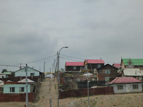 Photo: Běžná čtvrť v Ulanbátaru