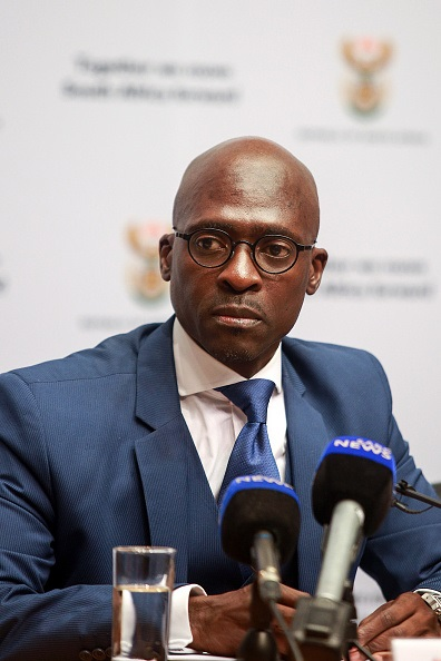 Gigaba told media that he will consult his lawyers on dealing with the leak and the contents of the report.
