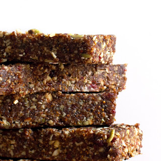 Raw Fig and Nut Bars.