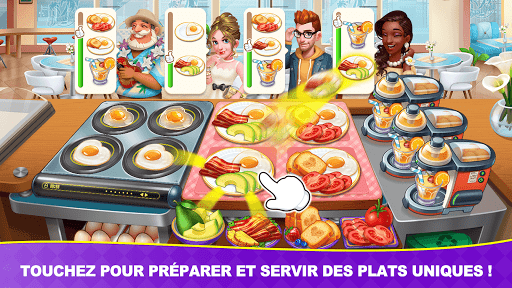 Télécharger Jeux culinaires Chef Toqué/Cooking Frenzy: Madness  APK MOD (Astuce) screenshots 1
