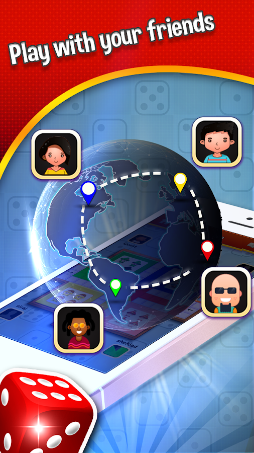 Smart Ludo Multiplayer - 3D Dice- screenshot