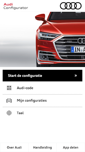 Audi Configurator BE screenshot 1
