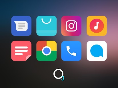 O3 Free Icon Pack - Square UI Screenshot
