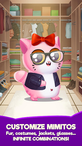 My Cat Mimitos 2 – Virtual pet with Minigames  captures d'écran 5