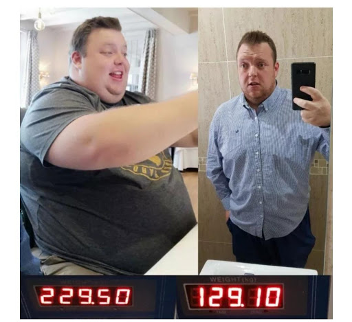 'I never thought I was that big,' says CT man who lost a massive 100kg