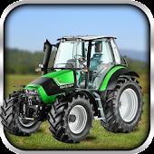 Farm Tractor Cargo Parking