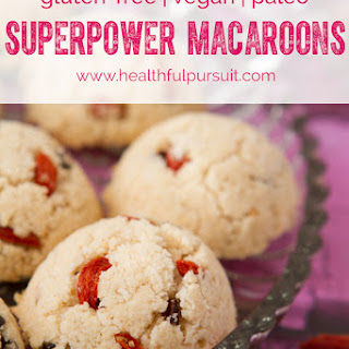 Superpower Macaroons (Paleo + Vegan).