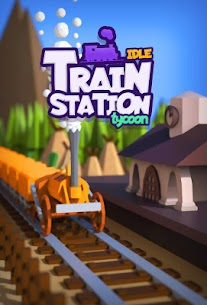 Idle Train Station Tycoon : Money Clicker Inc Mod Apk Download For Android and Iphone 1