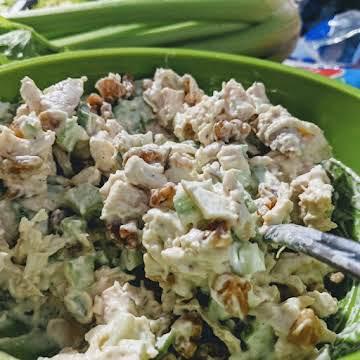 Crunchy Walnut Chicken Salad