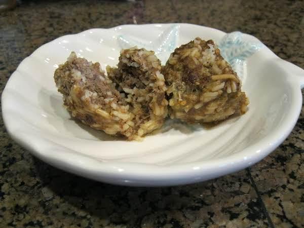 Rice-a-roni Meatballs Recipe