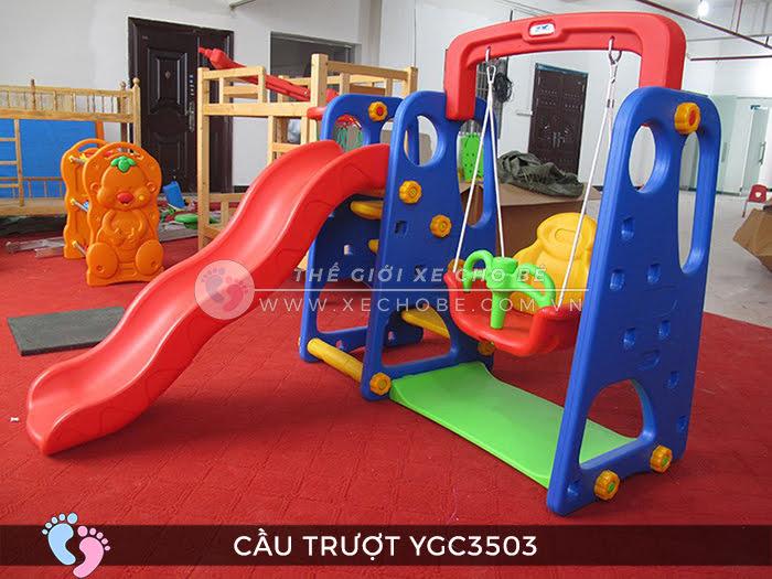 Cầu trượt trẻ em đa năng YGC-3503 7