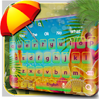Tropical Colors Keyboard icon