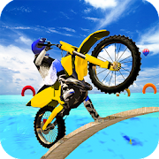Tricky Bike Stunt Drive Real Impossible Track
