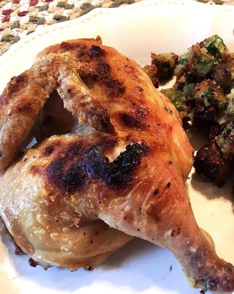 ~ Crispy Baked Cornish Hens ~ Recipe