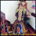 Modern Design African Dress icon