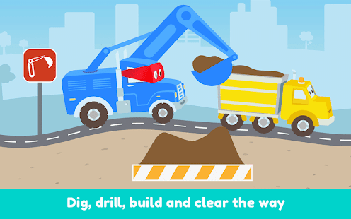Carl the Super Truck Roadworks: Dig, Drill & Build- screenshot thumbnail