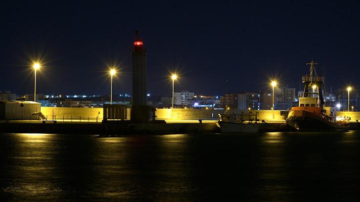 Un porto di notte di michelangelo_florilegio
