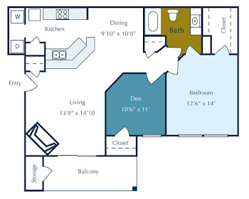 Go to Clear Lakes Floorplan page.