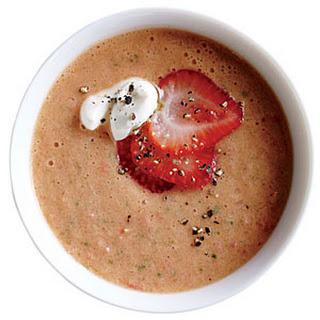Berry-Balsamic Tomato Soup