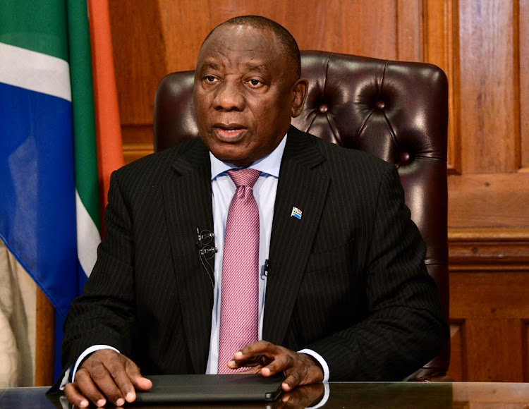 President Cyril Ramaphosa on Sunday addressed SA on the latest developments regarding the country's response to the coronavirus pandemic.