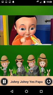 Johny Johny Yes Papa - Nursery Video app for kids - náhled
