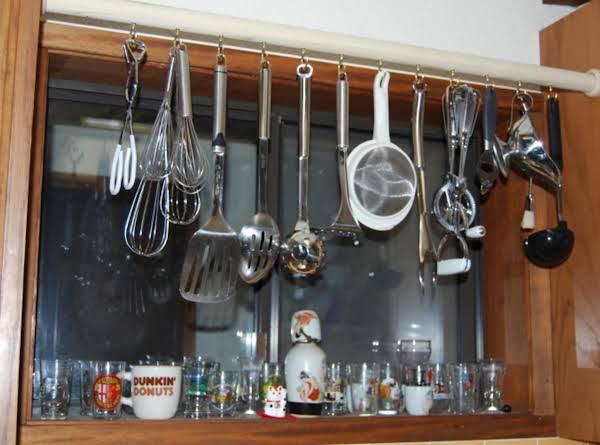 Kitchen Dodad Rack