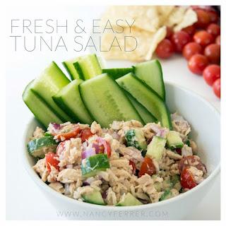 Fresh Tuna Salad.