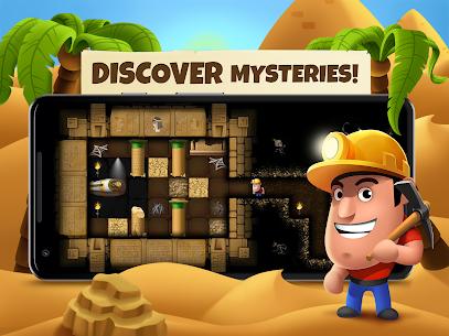 Diggy's Adventure: Escape this 2D Mine Maze Puzzle 9