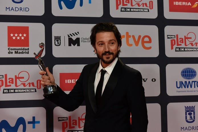 Diego Luna Premio Platino
