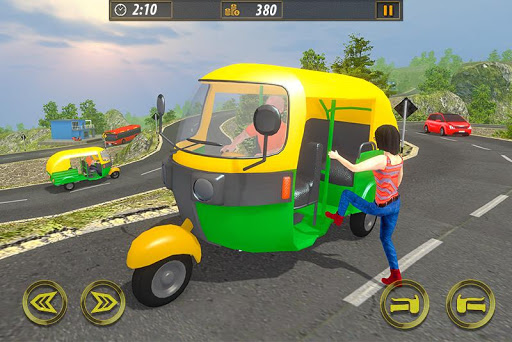 Tuk Tuk Taxi Sim 2020: Free Rickshaw Driving Games screenshots 2