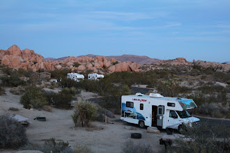 Photo: RVs at dusk