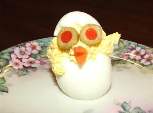 Easter ~ Spring Deviled Egg Chicks!