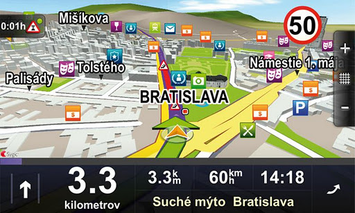 Sygic: Telekom Edition screenshot 2