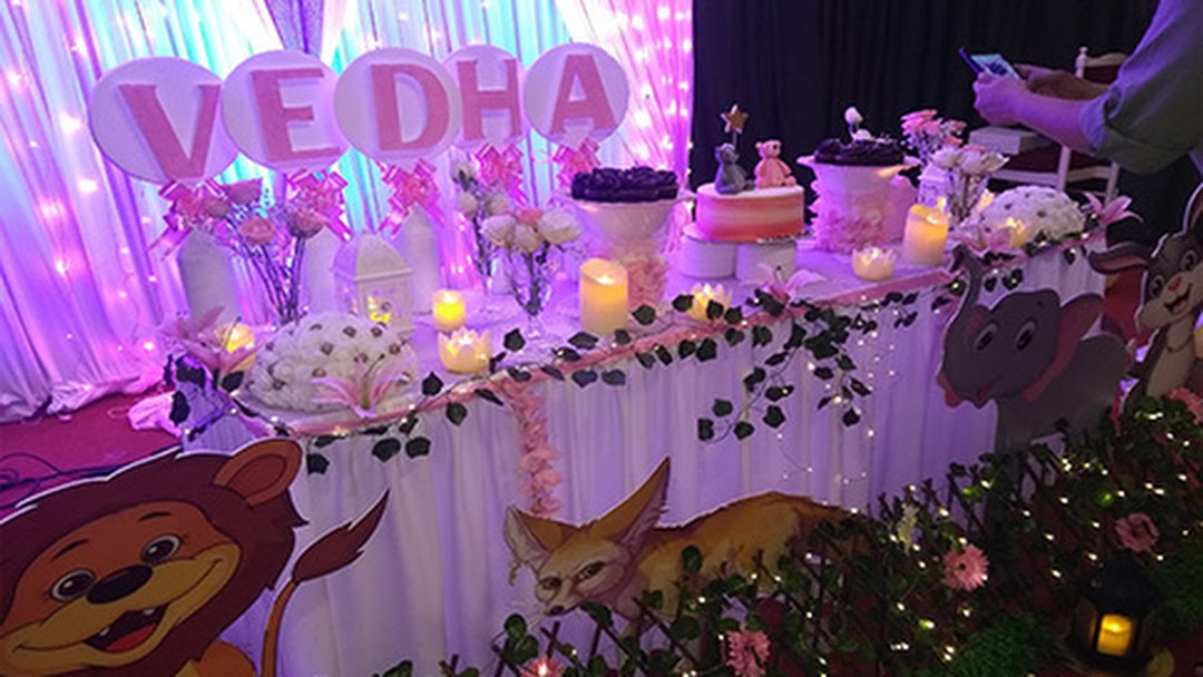 Bridal stage decorations in kochi, balloon decorator in ...