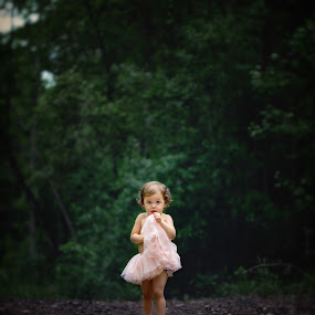 Lotte by Beth Ann - Babies & Children Child Portraits ( girl, tutu, trail, curls, pink,  )