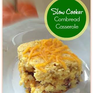 Cornbread Slow Cooker Casserole!.