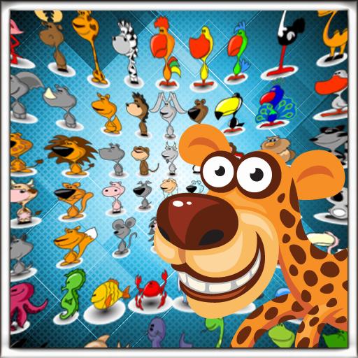 解谜のOnet Animals LOGO-記事Game